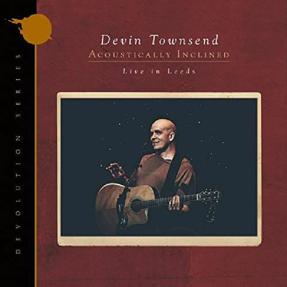 Devin Townsend - Devolution Series #1 - Acoustically Inclined, Live in Leeds (Gatefold black 2LP+CD)