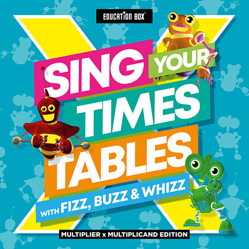 EDUCATION BOX - SING YOUR TIMES TABLES: FIZZ, BUZZ & WHIZZ