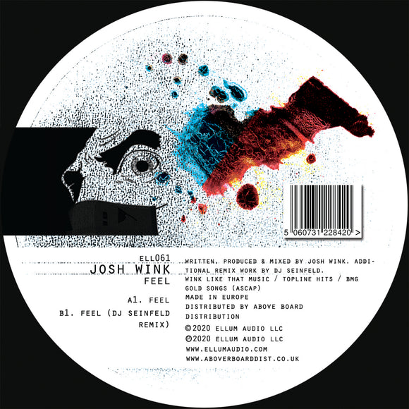 Josh Wink - Feel EP (Inc. DJ Seinfeld Remix)