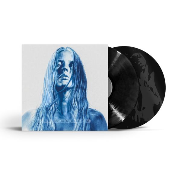 Ellie Goulding - BRIGHTEST BLUE BLACK LP - VIVUS RECYCLED GATEFOLD SLEEVE