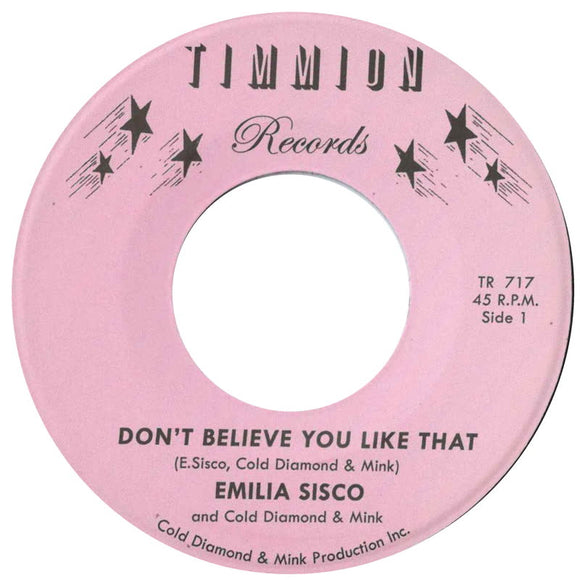 Emilia Sisco & Cold Diamond & Mink - Don't Believe You Like That