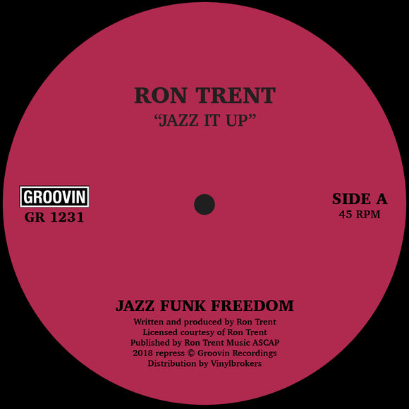 RON TRENT - JAZZ IT UP [Repress]