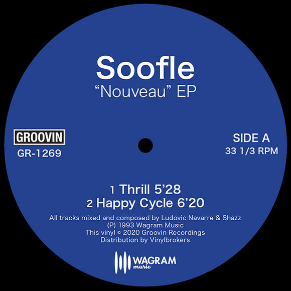 SOOFLE - NOUVEAU EP (Shazz & St. Germain 1993)