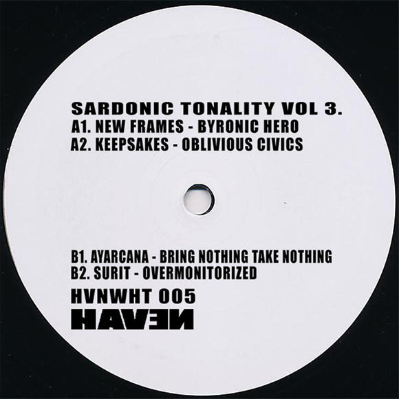 Various Artists - Sardonic Tonality Vol. 3 [hand-stamped]