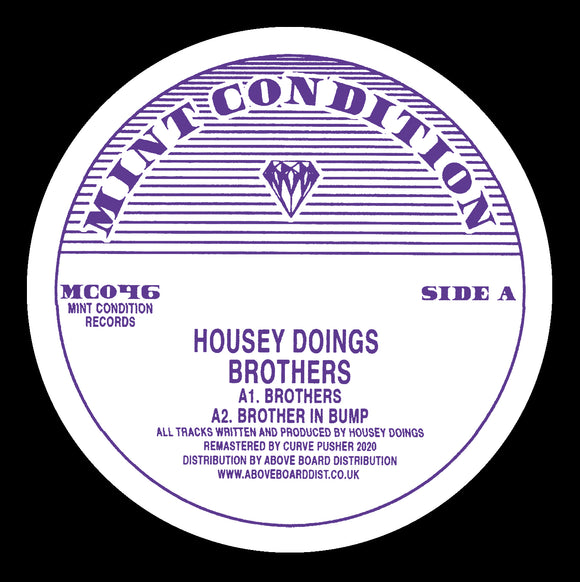 Housey Doings - Brothers [Repress]