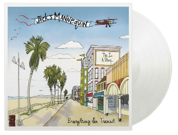 Jack's Mannequin - Everything In Transit (1LP Coloured)