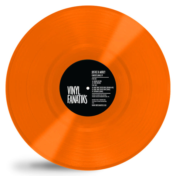Justice & Mercy - Concrete Jungle EP – ORANGE VINYL