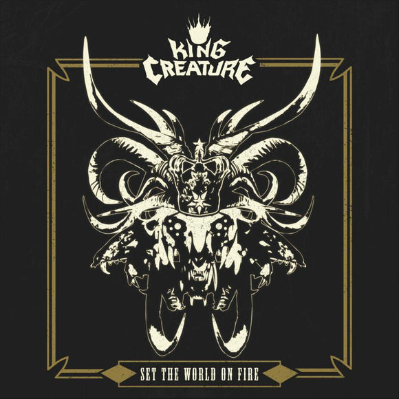 KING CREATURE - SET THE WORLD ON FIRE [Gold Vinyl]