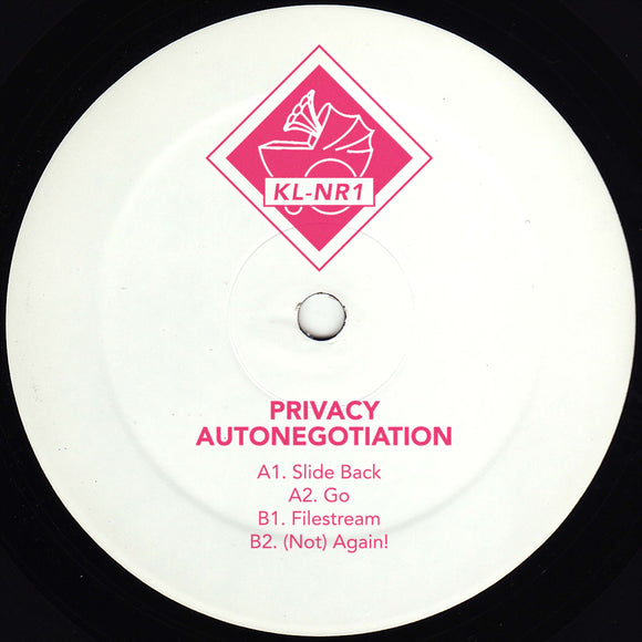 PRIVACY - Autonegotiation (hand-stamped 12