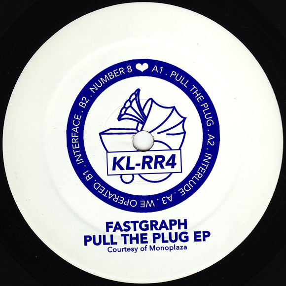 FASTGRAPH - Pull The Plug EP (reissue) (hand-stamped 12