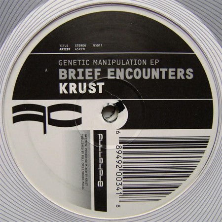 Krust - Genetic Manipulation EP - DOUBLE VINYL