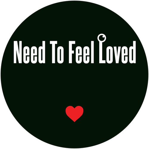 "FOKUZ - Need To Feel Love (transparent red marbled vinyl 12"")"