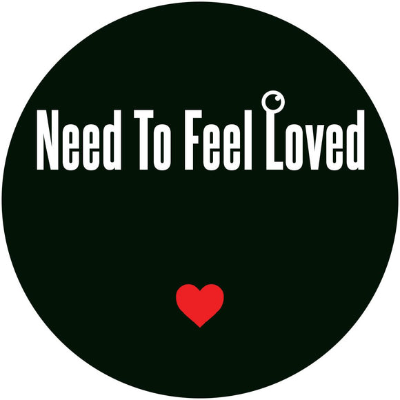 FOKUZ - Need To Feel Love (transparent red marbled vinyl 12