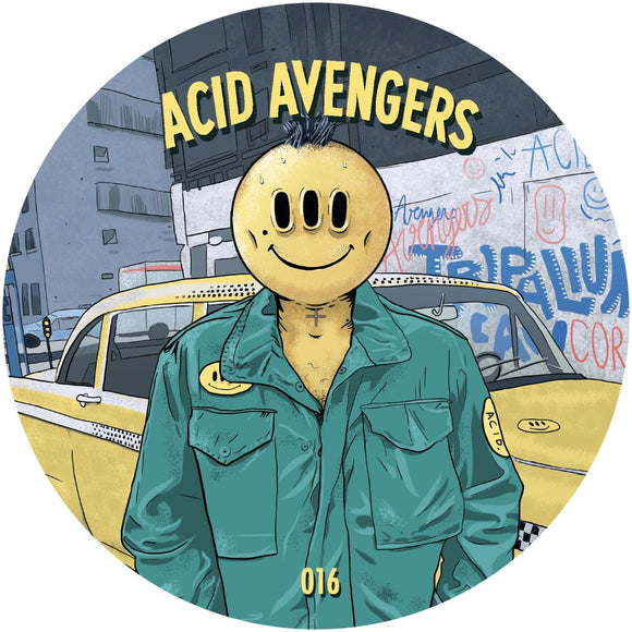 Lake Haze / Celldöd - Acid Avengers 016