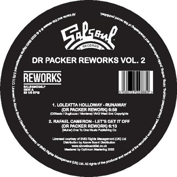 Loleatta Holloway / Rafael Cameron / Ripple / The Salsoul Orchestra - Dr. Packer Reworks Vol. 2