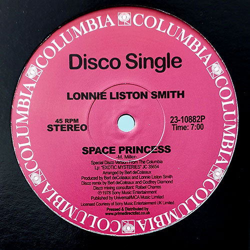 Lonnie Liston Smith - Space Princess / Quiet Moments