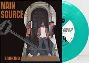 MAIN  SOURCE - LOOKING AT THE FRONT DOOR [Mint Green Vinyl] ONE PER PERSON