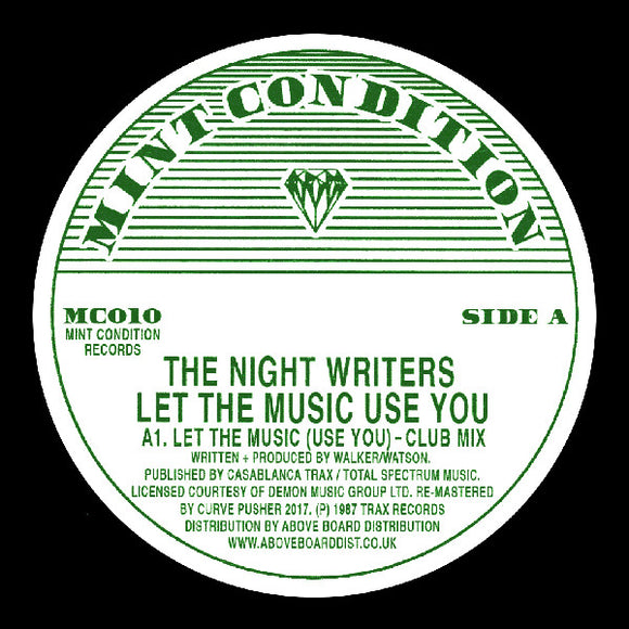 The NIGHT WRITERS - Let The Music Use You (reissue)