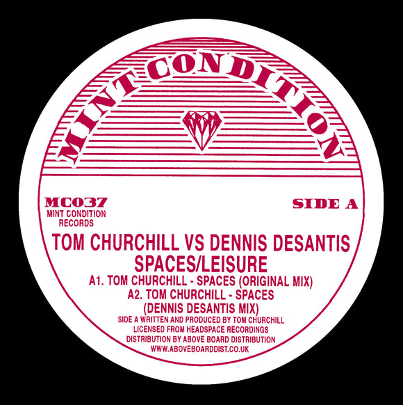 Tom Churchill vs. Dennis DeSantis ‎- Spaces