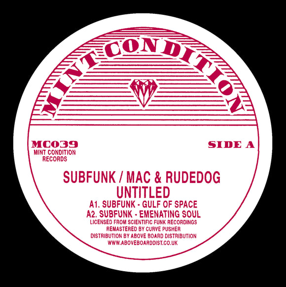 Subfunk / Mac & Rudedog - Untitled