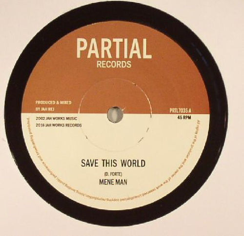 MENE MAN / SEVENTH SENSE - SAVE THIS WORLD