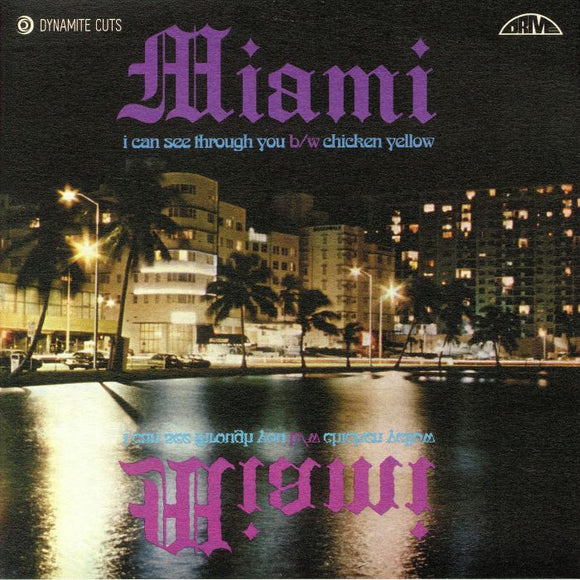 MIAMI - I Can See Through You