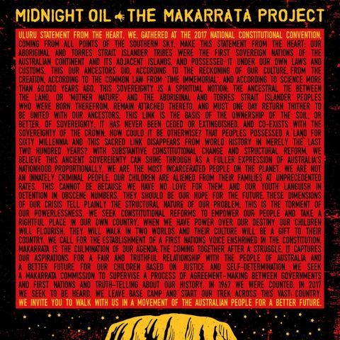 MIDNIGHT OIL - THER MAKARRATA PROJECT [CD]