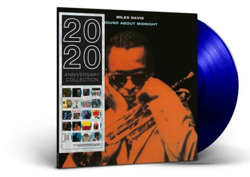 MILES DAVIS - Round About Midnight (Blue Vinyl) [Anniversary Collection]