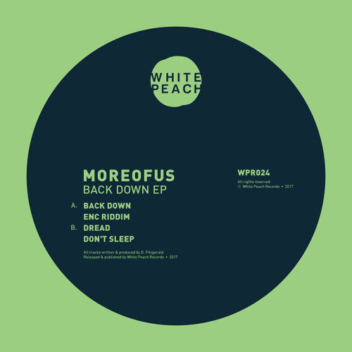 MOREOFUS - Back Down EP