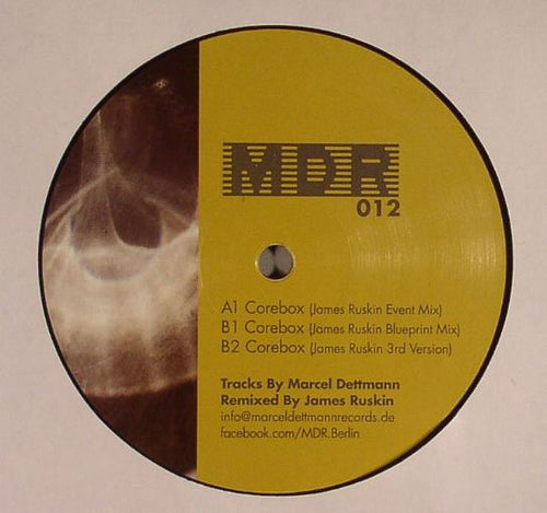 Marcel Dettmann - Corebox - James Ruskin Mixes