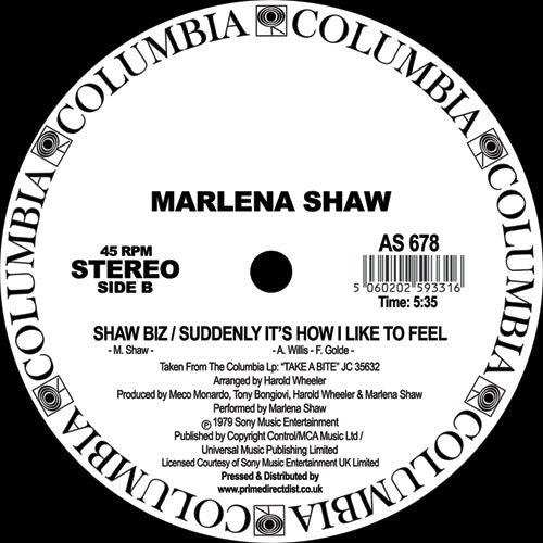 Marlena Shaw - Touch Me In The Morning