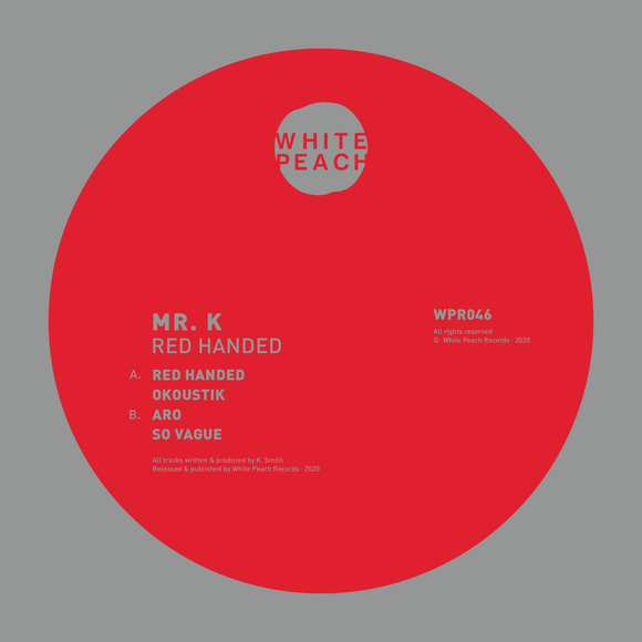 Mr. K - Red Handed [Repress]