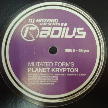 Mutated Forms - Planet Krypton / Computers