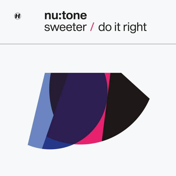 NU:TONE - SWEETER/DO IT RIGHT