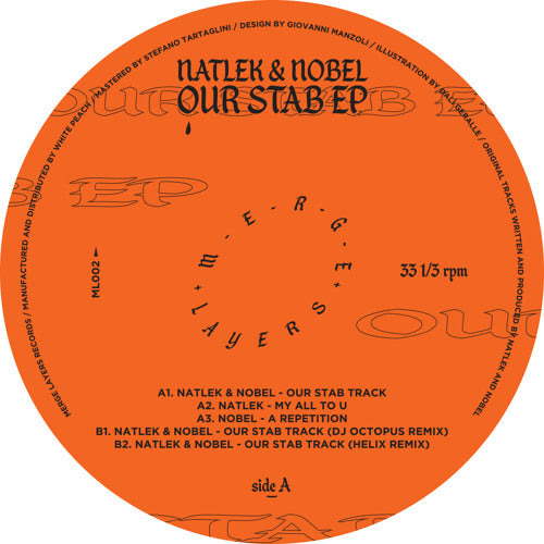 Natlek & Nobel - Our Stab EP