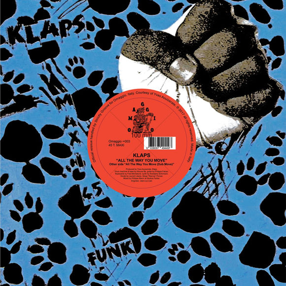 KLAPS - All The Way You Move (reissue)