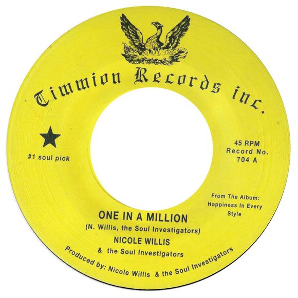 Nicole WILLIS/THE SOUL INVESTIGATORS - One In A Million