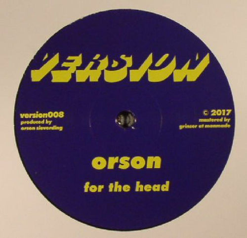 Orson - For The Head // The Past Is A Dream