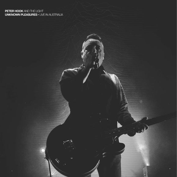 PETER HOOK AND THE LIGHT - UNKNOWN PLEASURES – LIVE IN AUSTRALIA [CD]