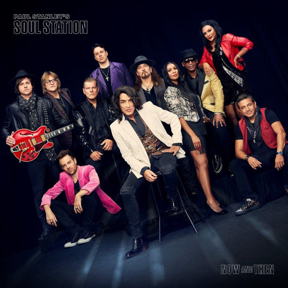 Paul Stanley's Soul Station - Now And Then [CD]