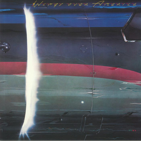 Paul McCartney - Wings Over America (3LP/Gat/Red-Green-Blue)