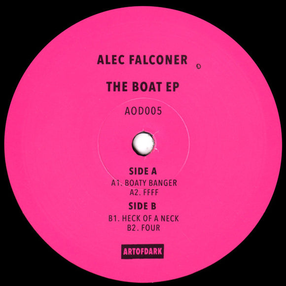 Alec FALCONER - The Boat EP (1 per customer)