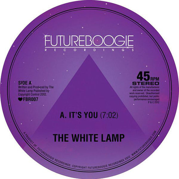 WHITE LAMP - It's You (1 PER PERSON)