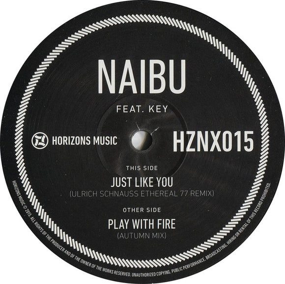 NAIBU feat KEY - Just Like You