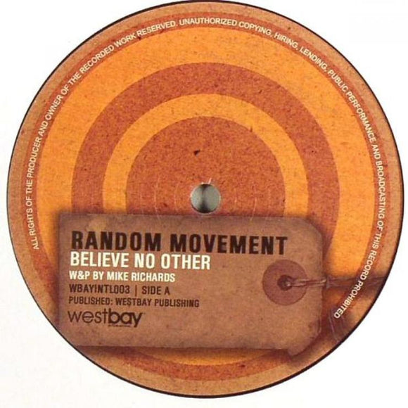 Random Movement - Believe No Other / The Student