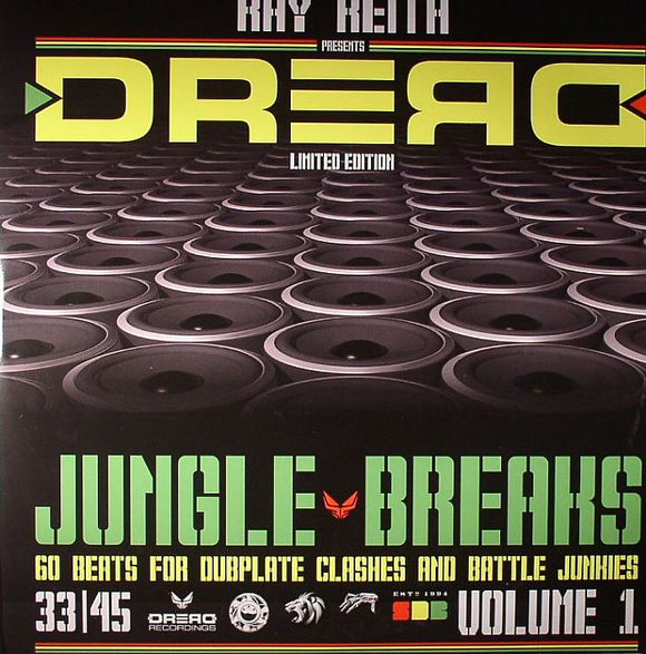 Ray KEITH - Dread Jungle Breaks Vol 1