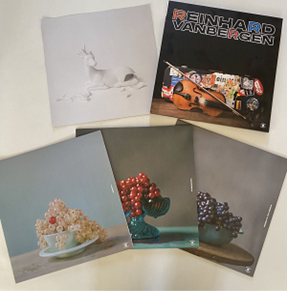Reinhard Vanbergen - Ubuntu, Stringworx, Presents For Friends (Limited Edition 3LP box set)