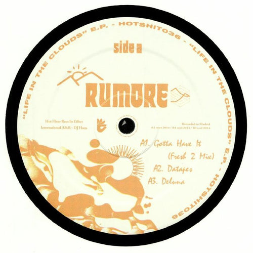 Rumore - Life In The Cloud EP