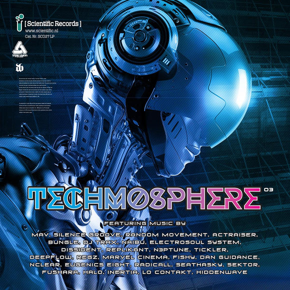 Techmosphere .03 LP [blue marbled vinyl]