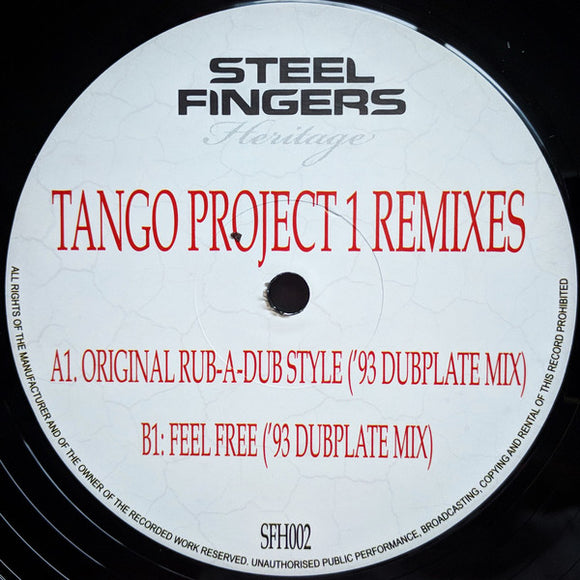TANGO - Tango Project 1 Remixes